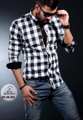 Турецькі чоловічі сорочки Rubaska відмінної якості недорого ... 8d97cfd058f23