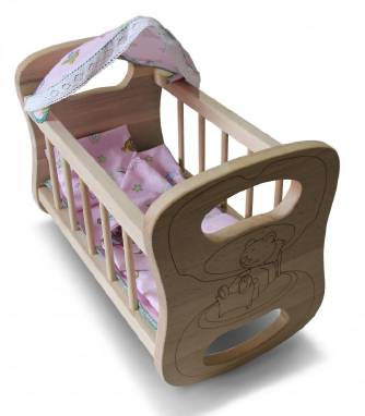 Ліжечко лялькове купити за доступною ціною