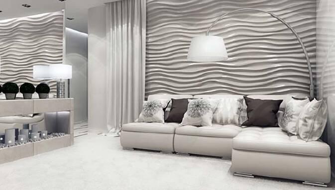 Декор стін в квартирі від найкращої майстерні