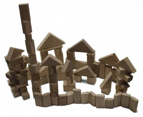 Дерев'яний конструктор будівельник замовити