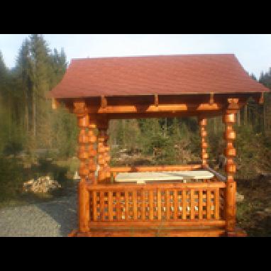 Дерев'яні альтанки для дачі придбати за вигідною ціною