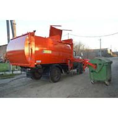 Купить контейнерный мусоровоз по доступной цене