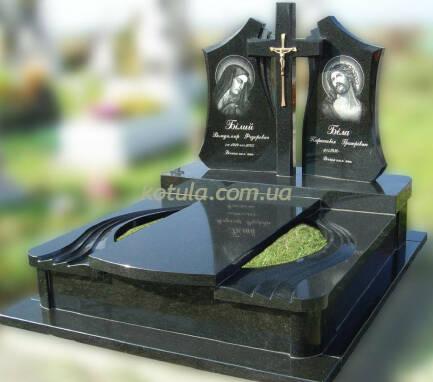 Подвійні пам'ятники з гранітузамовити Україна