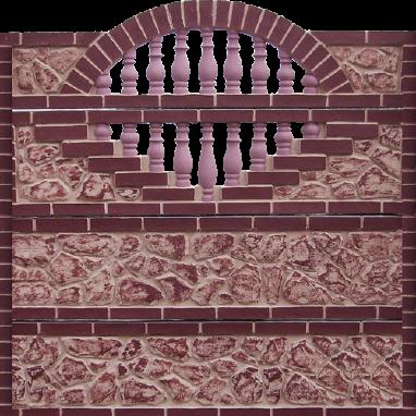 Декоративні бетонні паркани Полтава
