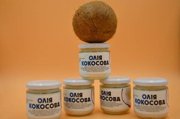 Масло кокоса нерафинированное в наличии