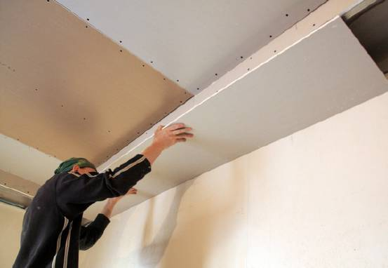Монтаж підвісної стелі з гіпсокартону Донецькзамовляйте у нас!