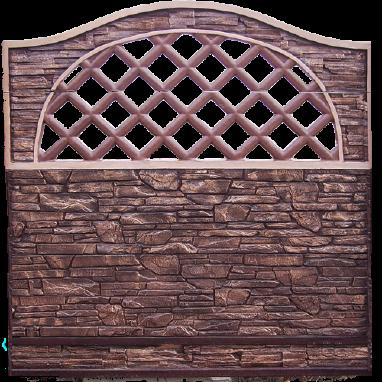 Декоративний бетонний паркан в наявності