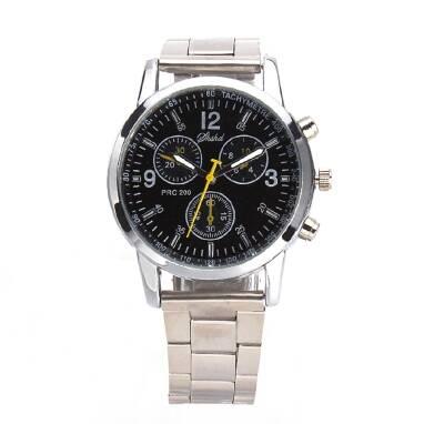 Шикарний чоловічий металевий годинник всього за 85 гривень!