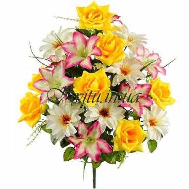 Оптовая продажа искусственных цветов в Украине осуществляет наша компания