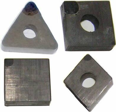 В наявності змінні пластини з ріжучої кераміки Union Materials Cerabit