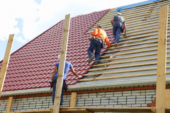Перекрыть крышу дома Славянск заказывайте у нас!