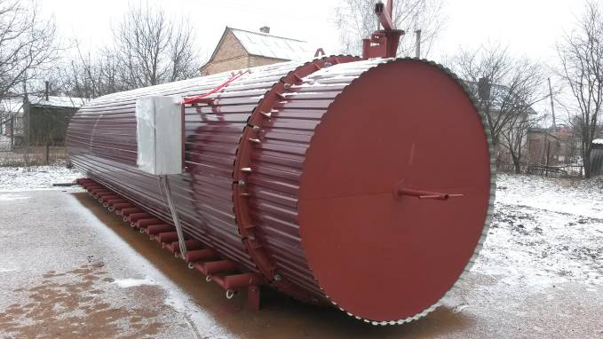 Пропонуємо обладнання для термічної обробки деревини високої якості!
