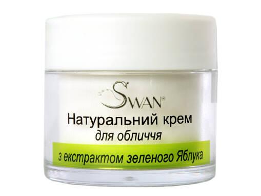 Органічний крем для обличчя Swan купити з доставкою!