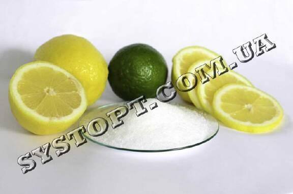 Кислота лимонная оптом с доставкой по Украине!