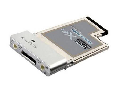 Звукова карта Creative Sound Blaster X-Fi Xtreme Audio Notebook