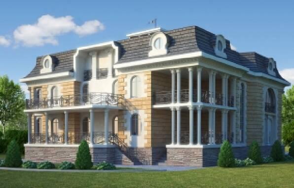 Архітектурний фасадний декор для будинку