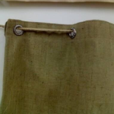 Пошив штор — перегородок из брезента и ПВХ