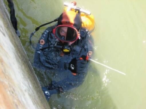 Выполняем подводную резку