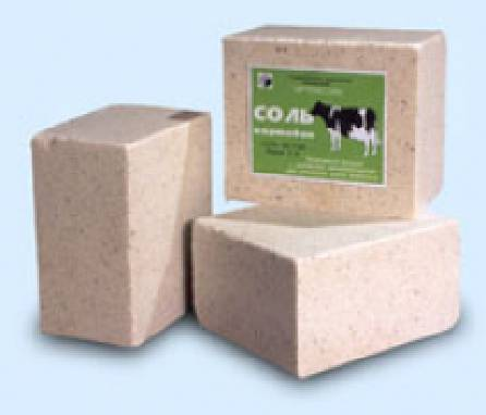 Продается соль брикетированная кормовая оптом, Львов (соль-лизунец)