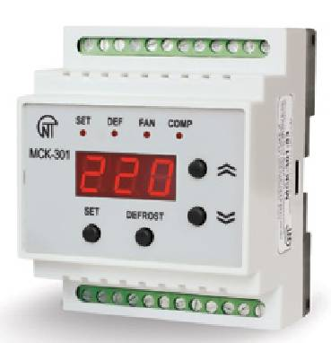 Контролери керування температурними приладами