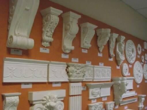 "Elegant gypsum moulding,gypsum items by the workshop""Florence"""