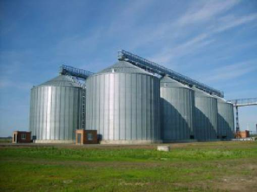 A reliable grain storage facility in Ukraine