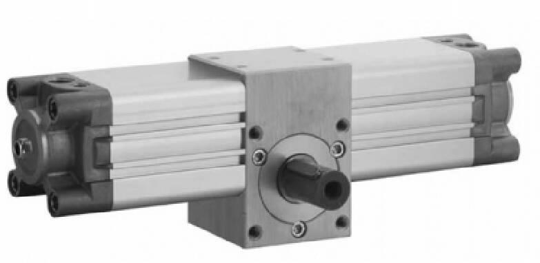 Поворотні циліндри з внутрішнім діаметром від 32 до 100 мм
