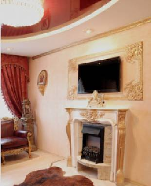 Ceiling decoration with a fillet - outline an individuality of your home!