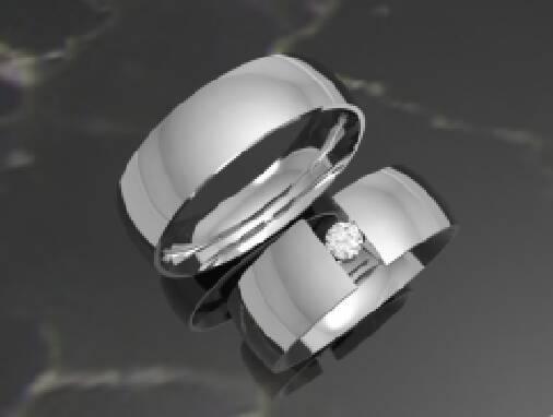 Мрієте про обручки з діамантами?