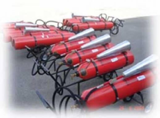 Огнетушители углекислотные, доставка в любой регион