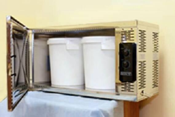 СВЧ-установка для обеззараживания медицинских отходов