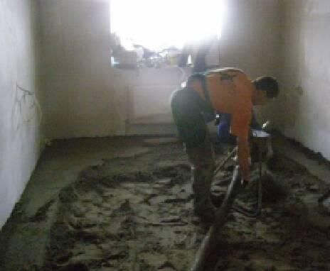 Послуги для тих, хто хоче зробити стяжку підлоги в квартирі!