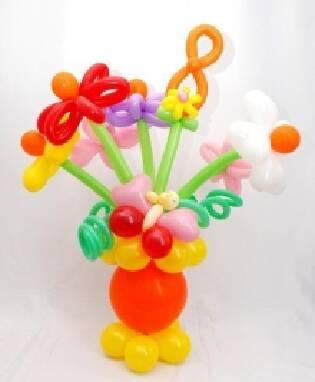 Цветы из воздушных шаров по невероятно доступным ценам!