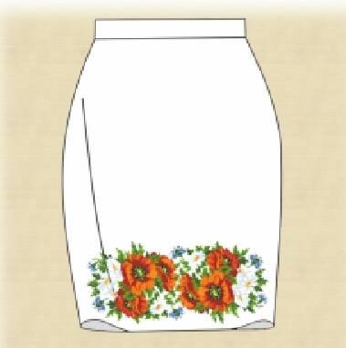 Заготовка для вышивки бисером юбки: купить выгодно здесь!