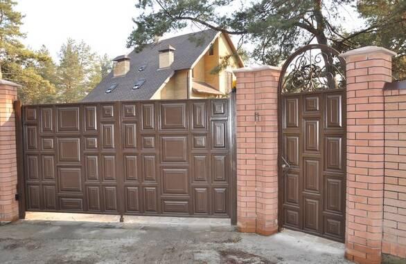 Купити відкатні ворота в Запоріжжі