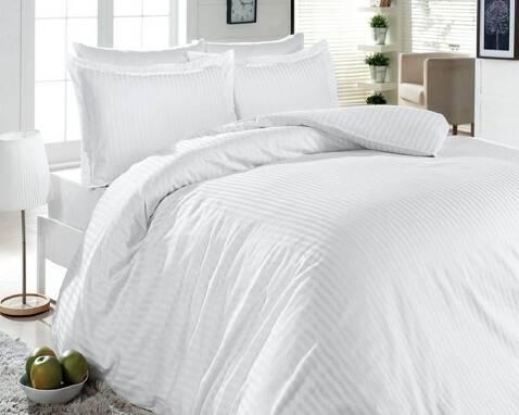 Купить постельное белье Киев, Комплект семейный «Белый стиль»