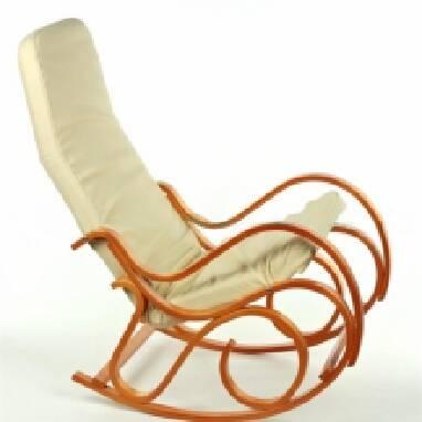 Дерев'яне крісло качалка - комфорту багато не буває!