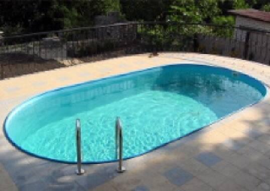 Композитний басейн для дачі Лагуна побудує за кілька днів!