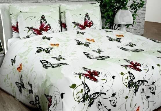 Постельное белье недорого, Комплект семейный «Бабочки»