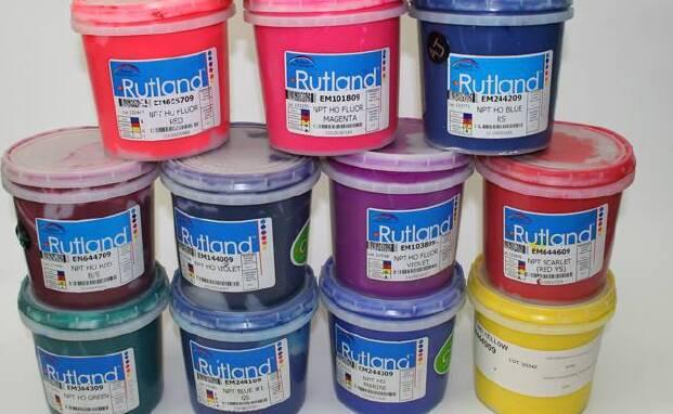 Пропонуємо пластизольні фарби RUTLAND