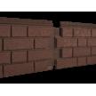 Фасадні панелі Stone Housе S-Lock Клінкер, колір: Терракотовий
