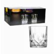Низькі склянки 220 мл в подарунковій упаковці 6 шт