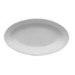 Біле глибоке блюдо-селедочница Lubiana Kaszub 24*14 см (2112 - L)
