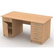 Стол письменный с тумбами (универсальный) СтЛ59