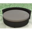 Круглая простынь на кровать Модель 2  Порох