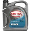 Масло моторное 15W-40, Sintec, Супер SG/CD,   4л, минеральное