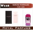 №118Женские духи на разлив Royal Parfums Narciso Rodriguez( For her) №118  100мл