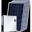 Сетевая солнечная электростанция 30 кВт на СБ Trina Solar TSM-445M