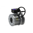 Кран кульовий 11с341п c редуктором DN 350/300 BREEZE 11с341п c редуктором DN 350/300