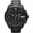 Чоловічий годинник Diesel 10 Bar із залізним ремінцем Black
